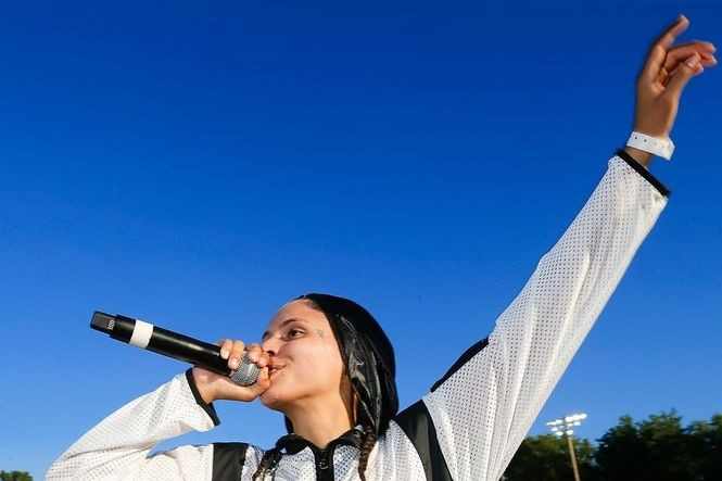 070 Shake, breakout star from Kanye West album, comes home to N J