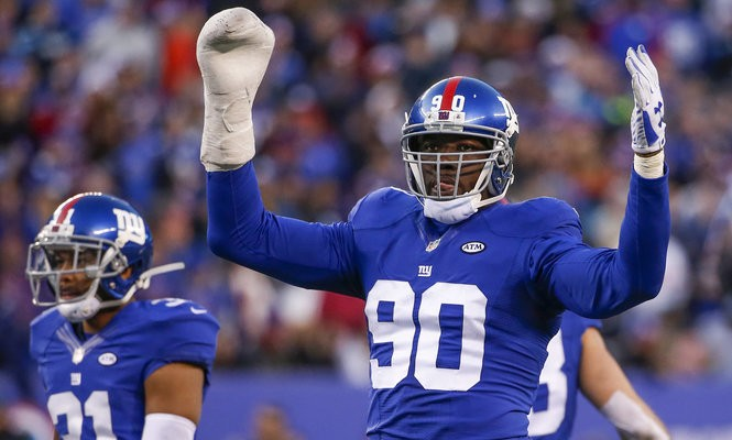 Former New York Giants defensive end Jason Pierre-Paul dropped the listing price of his Montclair home by $200,000.