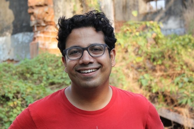 Kushanava Choudhury returned to India, where he worked on a newspaper and connected with his roots.