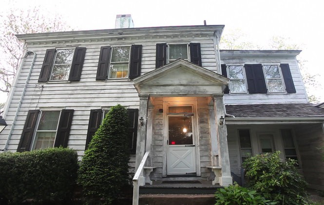 The exterior of the Caldwell Parsonage, a site New Jersey Paranormal has investigated more than once. Unlike the harried dramas of ghost-hunting TV, any given visit can turn up something, or nothing. (Frances Micklow | The Star-Ledger)