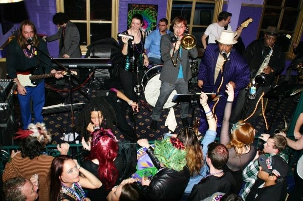 The ON7 Band returns to New Brunswick's Old Bay for its annual Fat Tuesday party.