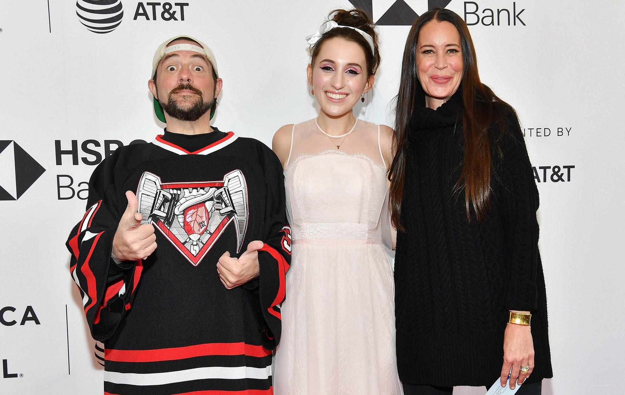 Kevin Smith S Daughter Harley Quinn Celebrates Movie Pickup Nj Com