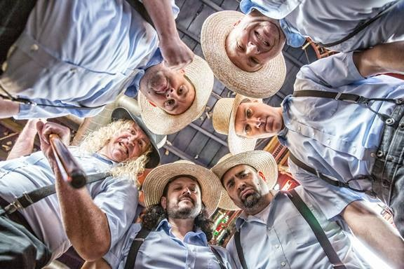The hilarious and entertaining cover band, The Amish Outlaws, will headline the Midland Brew House on Thanksgiving Eve.