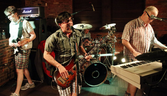 The NERDS, shown here at Moore's Tavern in Freehold, will perform at Crossroads in Garwood this Thanksgiving Eve.