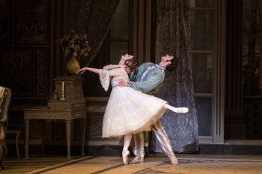 Julie Kent and Roberto Bolle in American Ballet Theatre's production of 'A Month in the Country'