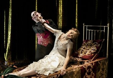 Adam Maskell and Hannah Vassallo in Matthew Bourne's 'The Sleeping Beauty'