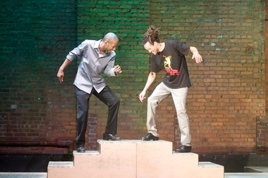 Marshall Davis Jr. and Savion Glover in 'STePz'