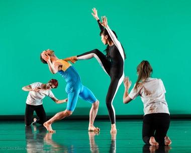 """Douglas Dunn and Dancers rehearse """"Aubade"""""""