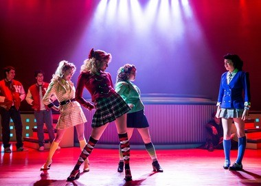 "The cast of ""Heathers: The Musical."""