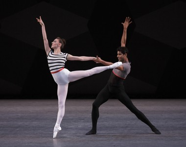 New York City Ballet's Tiler Peck and Amar Ramasar in 'Everywhere We Go'
