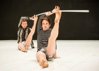 Simon Courchel and Stuart Singer in John Jasperse's 'Within between'