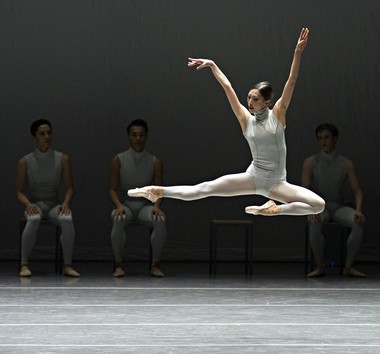 Boston Ballet's Misa Kuranaga in 'The Second Detail'