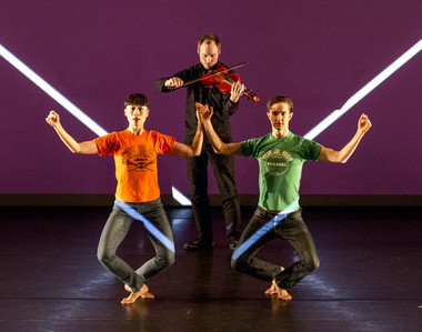 Douglas Dunn and Dancers in 'Aubade'