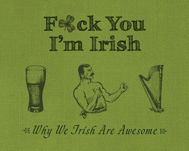 A well-written book that covers all matters Irish from religion to Guinness.