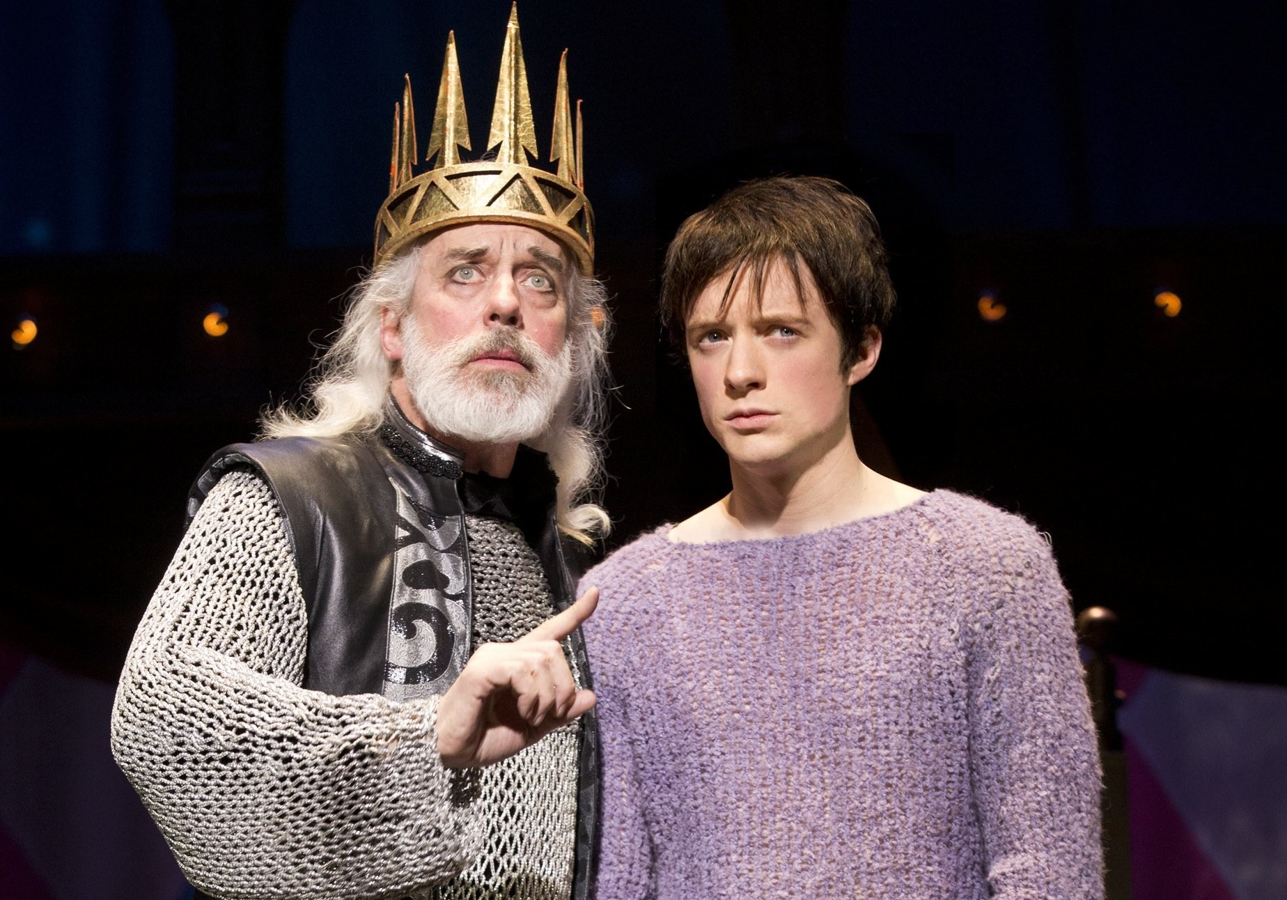 Terrence Mann Actor >> Pippin Actor Terrence Mann Steps Into Another Extraordinary