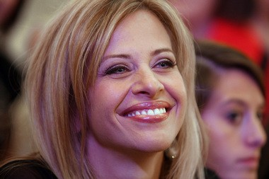 "Dina Manzo, the former ""Real Housewives of New Jersey"" star who now stars in ""Dina's Party"" on HGTV, revealed she has split from her husband, Tommy Manzo of Paterson's The Brownstone."