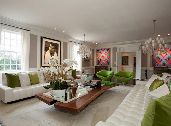 Music power couple Alicia Keys and Swizz Beatz gave Eddie Murphy's old Englewood pad a design makeover, but are reportedly looking for something larger.