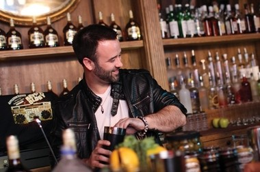 """Ryland Inn bartender Christopher James will compete in the championship round of the """"Master of the Manhattan"""" mixology competition tonight."""