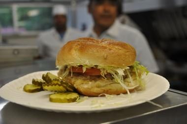 Burger, White Rose System, Highland Park.