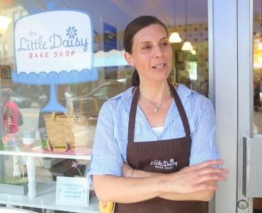 Jennifer Snyder, owner of the Little Daisy Bake Shop in Montclair.