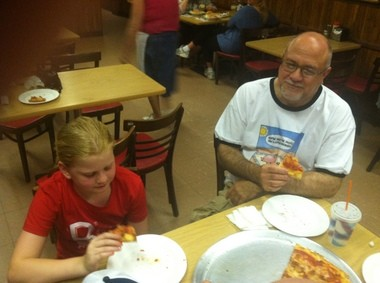 Holly Anthony and Joe Pavlichko at Delio's in South Amboy.