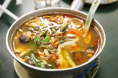 The Tom Yum Gai at Four Seasons was a group favorite.
