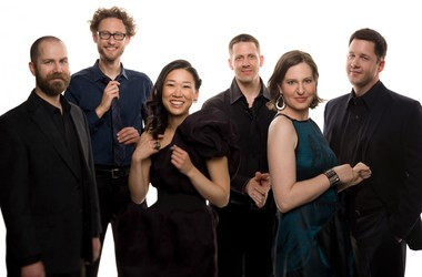 "The chamber ensemble Eighth Blackbird won two Grammy Awards for ""Meanwhile"""