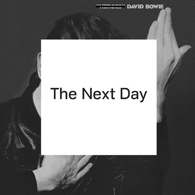 "The cover of Bowie's ""The Next Day"" is an altered version of the ""Heroes"" album art."