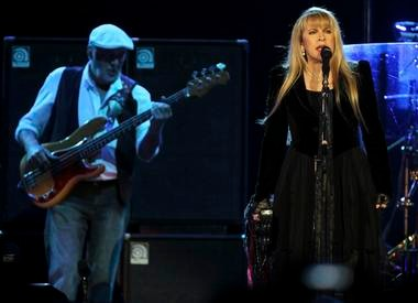 Fleetwood Mac, performing at the Prudential Center in Newark