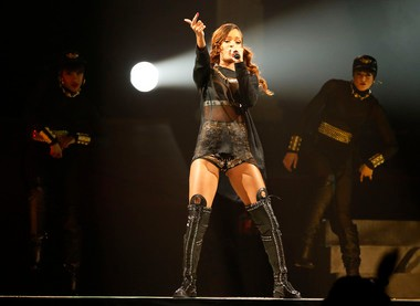"""On """"Unapologetic,"""" her latest album, Rihanna foregrounded her hip-hop influences."""