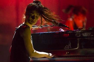 Fiona Apple at the Wellmont Theatre, 2012
