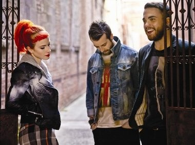 Your 2013 Paramore: Hayley Williams, Taylor York, and Jeremy Davis.