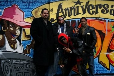 Hip-hop pioneers -- and Jersey artists -- Rapper's Delight, featuring Wonder Mike and Master Gee, former members of the Sugar Hill Gang
