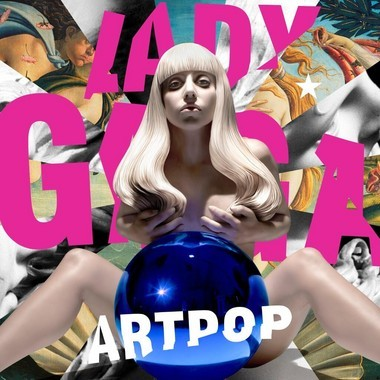 """The cover of Lady Gaga's """"Artpop."""""""