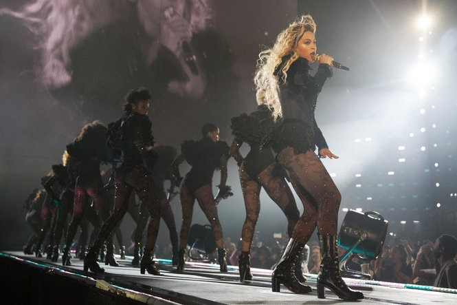 Beyonce performs during the Formation World Tour at Soldier Field on Friday, May 27, 2016, in Chicago, Illinois. (Photo by Daniela Vesco/Parkwood Entertainment)