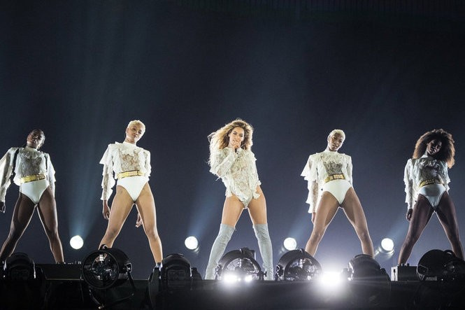 Beyonce performs during the Formation World Tour at Lincoln Financial Field on Sunday, June 5, 2016, in Philadelphia, Pennsylvania. (Photo by Daniela Vesco/Invision for Parkwood Entertainment)