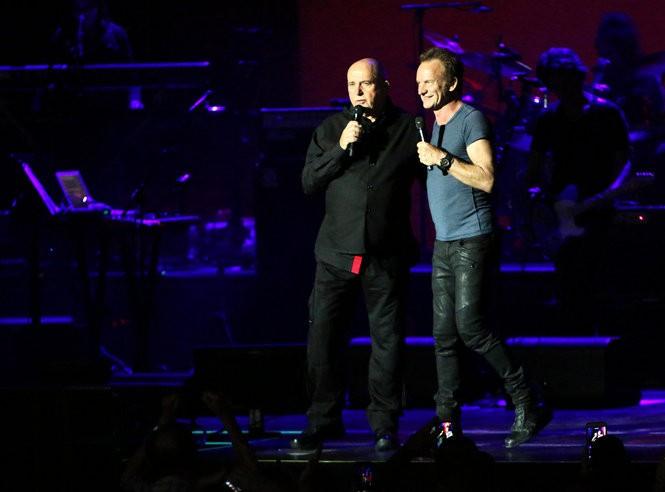 Sting and Peter Gabriel: Rock Paper Scissors Tour at the BB&T Pavilion in Camden, N.J., Sunday, June 26, 2016. (Lori M. Nichols | For NJ.com)