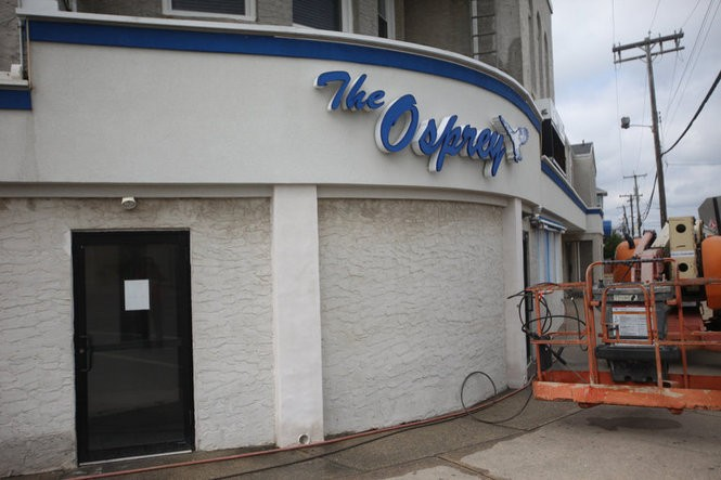 The Osprey nightclub in Manasquan, when Springsteen was taken to have his first drink ever - a shot of Jose Cuervo tequila. (Bobby Olivier | NJ Advance Media for NJ.com)