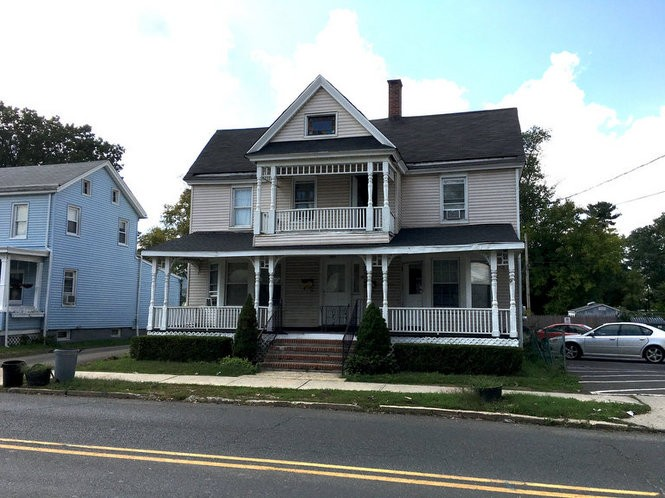68 South St. in Freehold, where high school-aged Springsteen lived. (Bobby Olivier | NJ Advance Media for NJ.com)