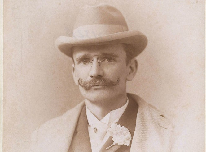 Harry A. Heath, a Manhattan optician who recorded in Ocean Grove in 1897. (Jeff Perkins Collection)