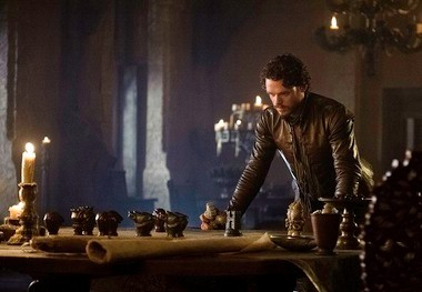 If King Robb's reign is like a game of chess, he might have to sacrifice his queen.