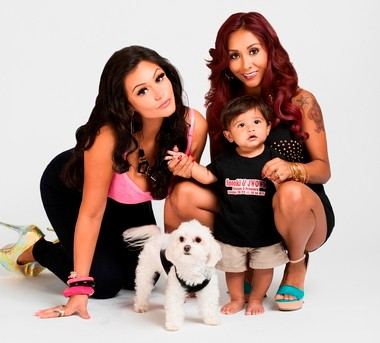 Polizzi's son, Lorenzo, born during the second season of 'Snooki & JWOWW,' celebrated his first birthday this past summer.