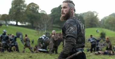 Travis Fimmel stars as legendary Norse raider Ragnar Lothbrok in History's 'Vikings,' which has been renewed for a fourth season.