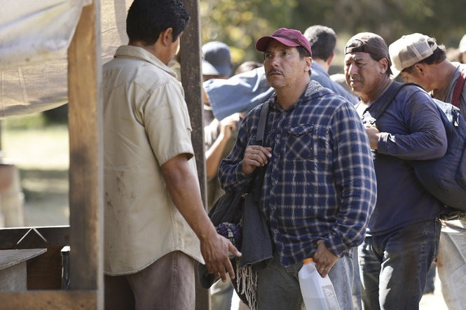 """Benito Martinez plays a Mexican man who enters the United States illegally to look for his missing son in the third season of """"American Crime."""""""