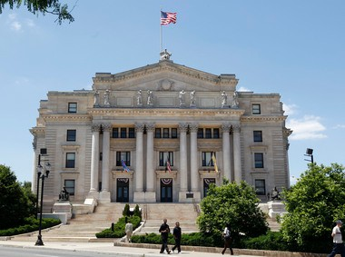 The Essex County Courthouse, pictured here in this file photo currently has eight judges on recall. The state has had 73 judges sit on recall so far this year.