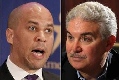 Newark Mayor Cory Booker and New Jersey Devils owner Jeff Vanderbeek have hashed out a revenue-sharing deal surrounding the Prudential Center that, if approved by the City Council, could bring an end to years of legal battles.