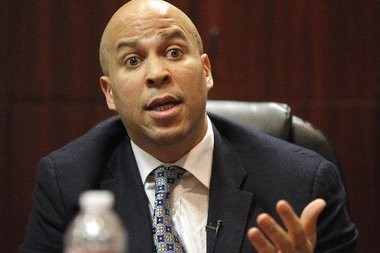 Newark Mayor Cory Booker said he isn't bothered by questions about his sexual orientation.