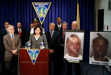 Acting Essex County Prosecutor Carolyn Murray answers questions during a 2011 press conference about the arrests of Myriam Janvier and Venette Ovilde (now Krisla Rezireksyon) in the connection with the death of Ovilde's 8-year old daughter. The two were indicted on murder charges last year and attorneys are in the beginning stages of preparing for a trial.