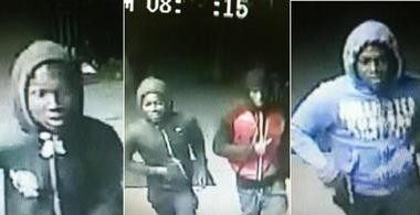 West Orange arrested four teens seen in the surveillance footage recorded May 4 near Ridge and Watson avenues around 10 p.m.