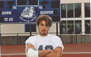 Montclair High School football player Ryne Dougherty died on Oct. 15, 2008, two days after collapsing in a junior varsity game against Don Bosco Prep.